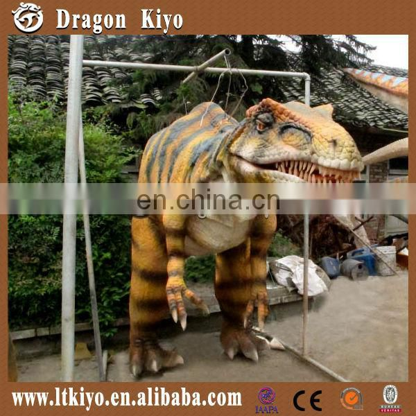 2016 new product animatronic hidden legs dinosaur costume