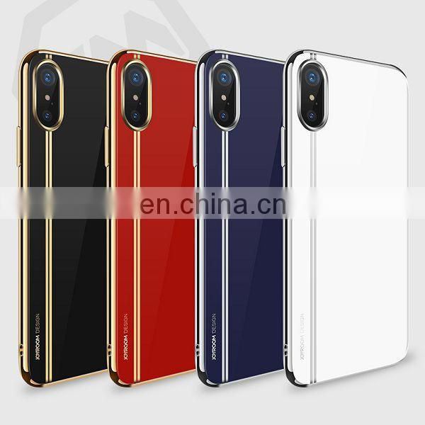 for iPhone X Gorgeous Series Soft TPU Back Cover Case