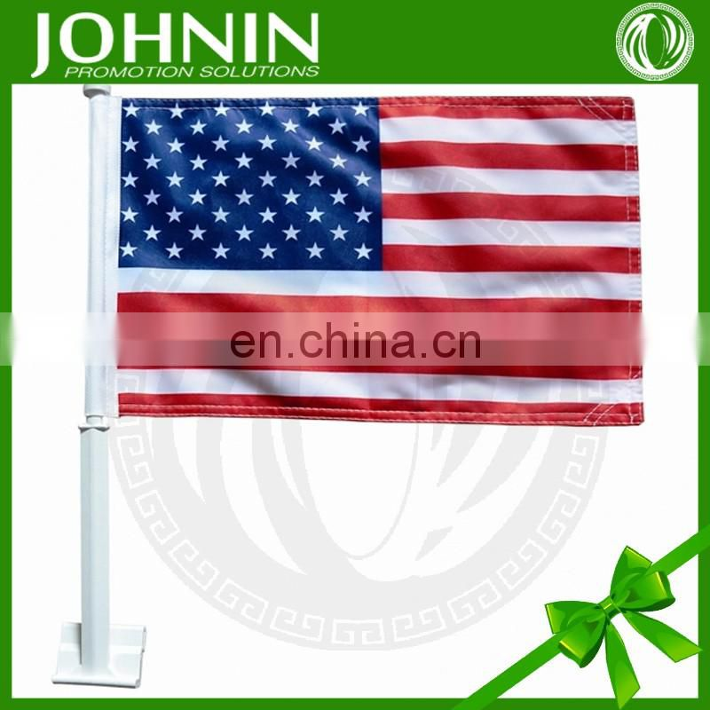 cheap custom different countries national outdoor car polyester flag