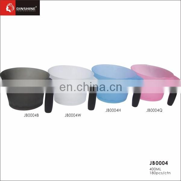 hair salon coloring tint bowl with rubber stand salon shampoo bowl