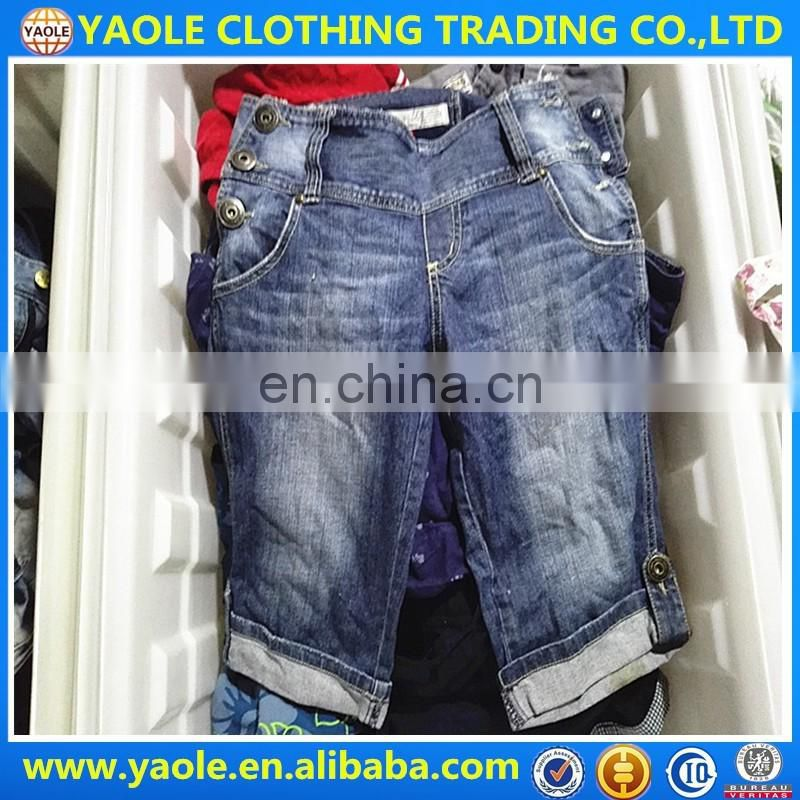 original short pants second hand clothing wholesale used clothing