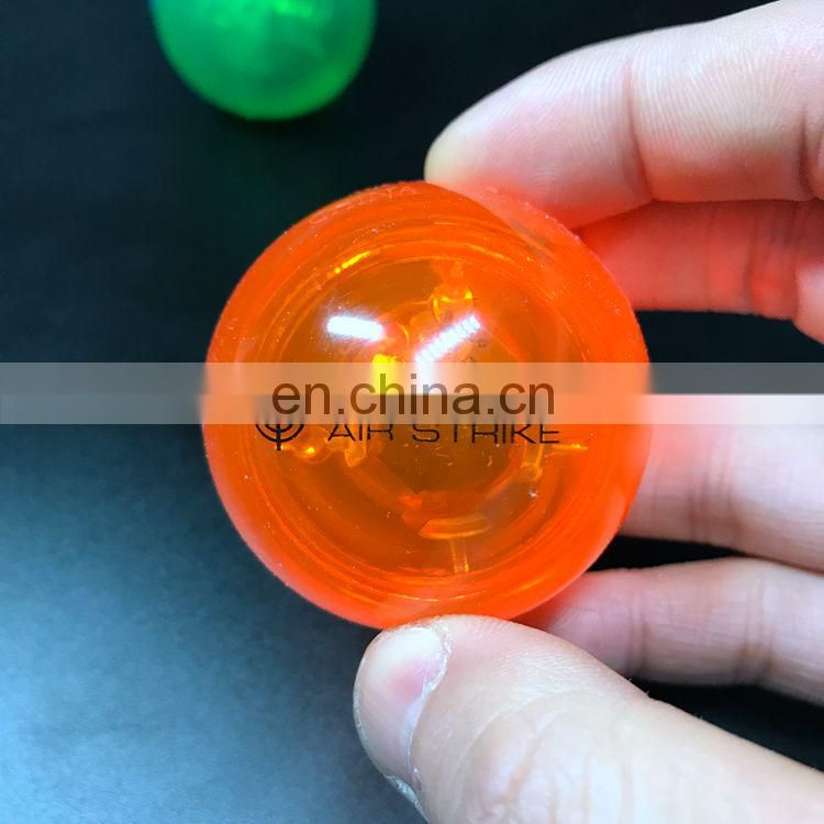 Factory OEM price colorful customized logo LED bouncing ball