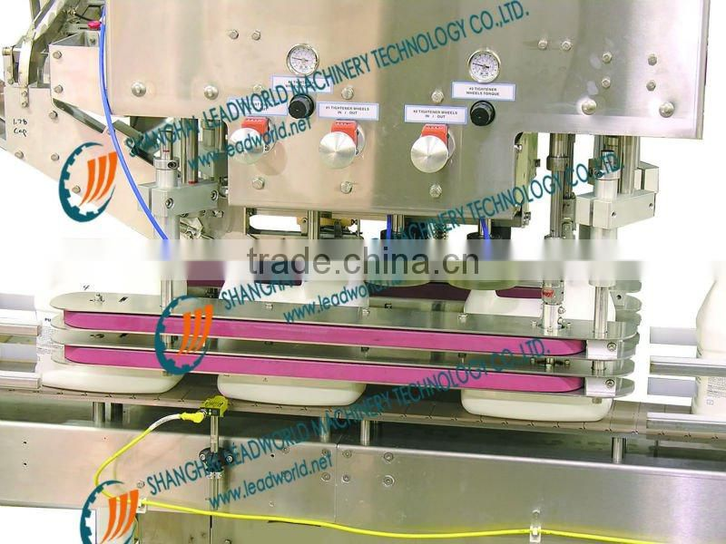 automatic metal capper and cap sorter