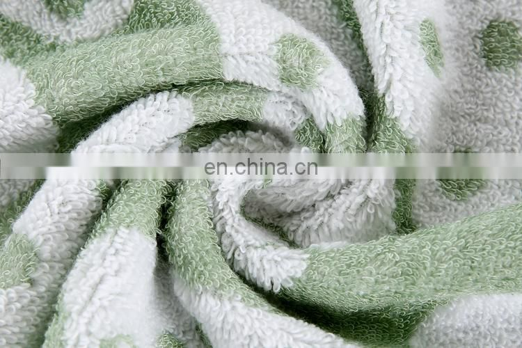 New Design Yarn Dyed Bamboo Fiber Face Towel