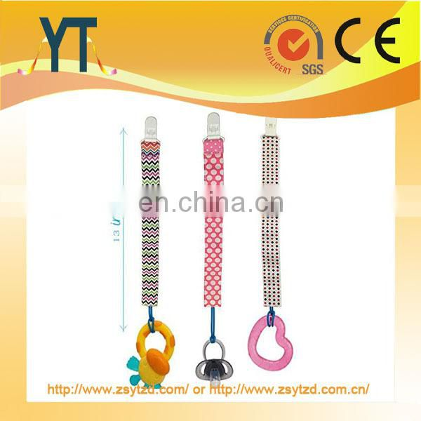 NEW STYLE!!!2017 baby pacifier clips, Eco-friendly Universal Pacifier Clip Plastic clip/Baby pacifier holder/Teether clip