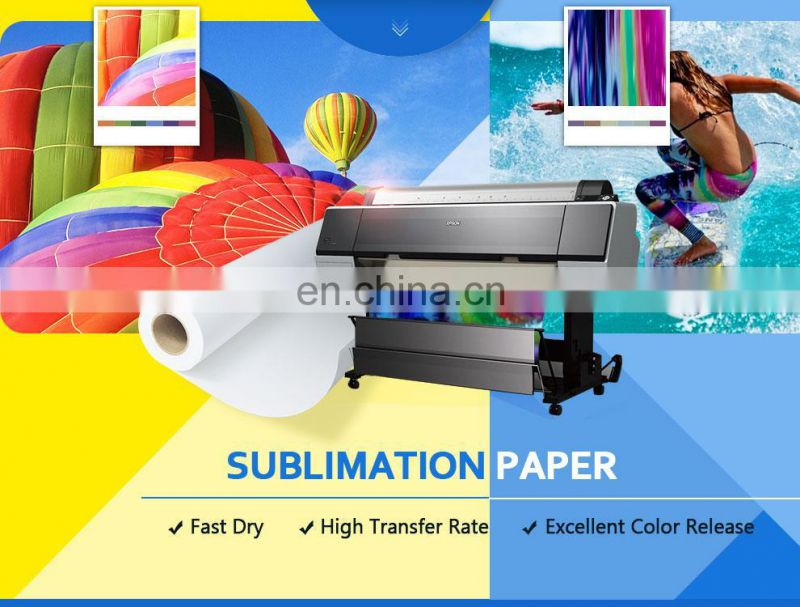 Factory Supply 70g/80g/90g/100g Sublimation Heat Transfer