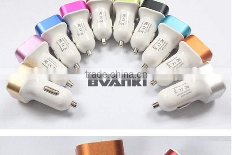 new products 2016 qc2.0 car charger, usb car charger for charging mobile phone/tablet/MP3 devices china supplier free sample