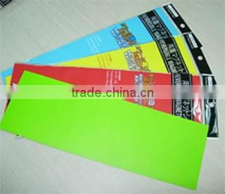 Flexible Colorful Magnetic A4 magnetic sheet, magnetic whiteboard