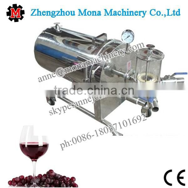 Quality assured disc type diatomite filter separator for sugar syrup/wine