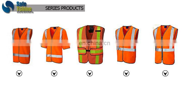 High visibility custom reflective en1150 pink vest