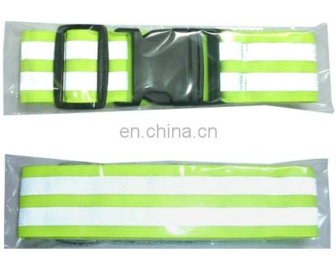 climbing Reflective reflective belt for safety with 100% ployester