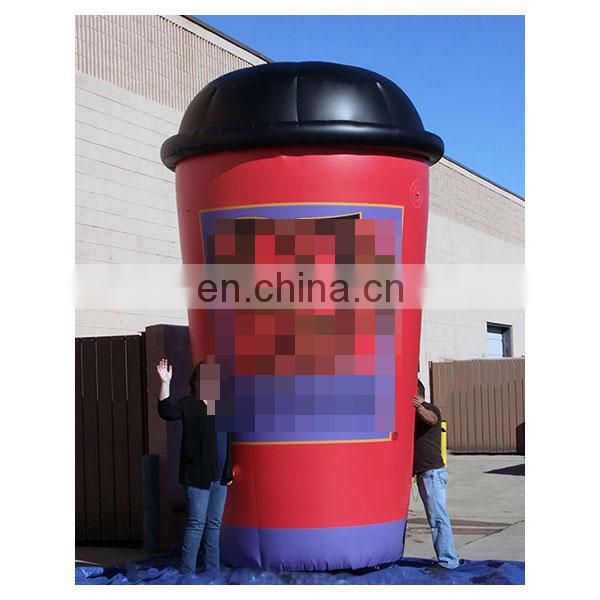 giant inflatable coffee cup advertising cup for sale