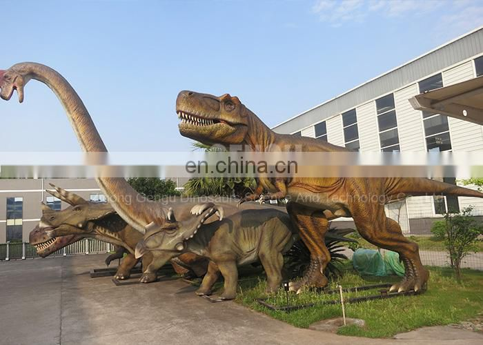 Dinosaur Theme Park Equipment Animatronic Dinosaur T-rex