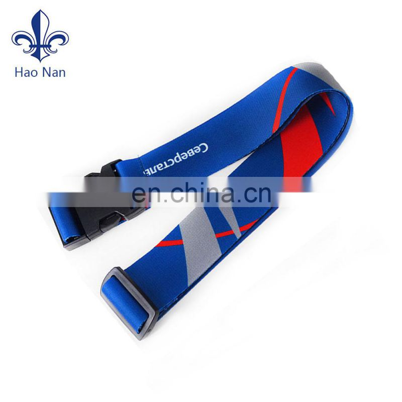 High quality airport travel custom made suitcase luggage strap