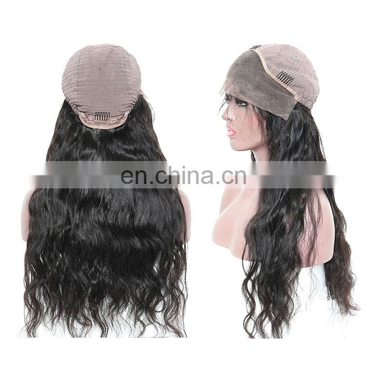 New products human hair lace front wig, Curly body wave wigs human hair extensions
