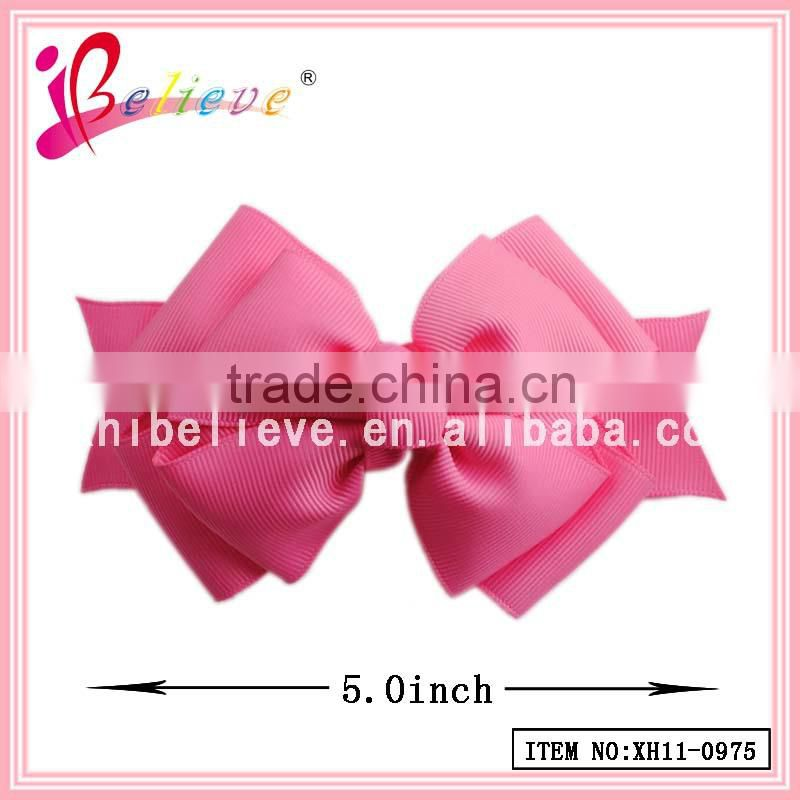 Russia fashion headwear jewelry made in China ribbon bow korean hair accessories (XH11-0975)