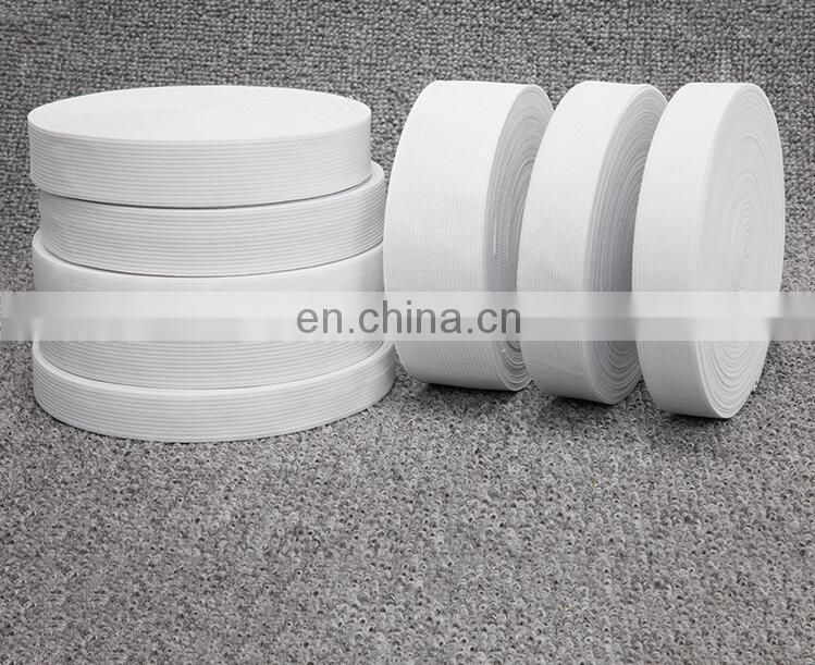 factory supply white color crocheted elastic tape