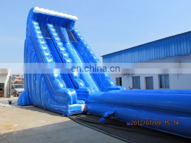 giant inflatable water slide for adult/used playground slides for sale