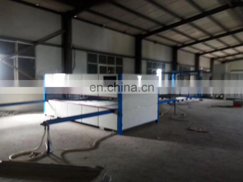 MWJM-01 automatic wood grain transfer printing machine for door