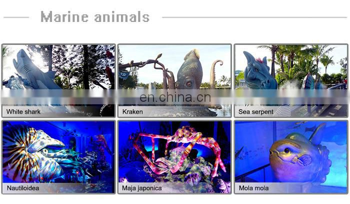 Realistic High Simulation Model 3D Marine Animal