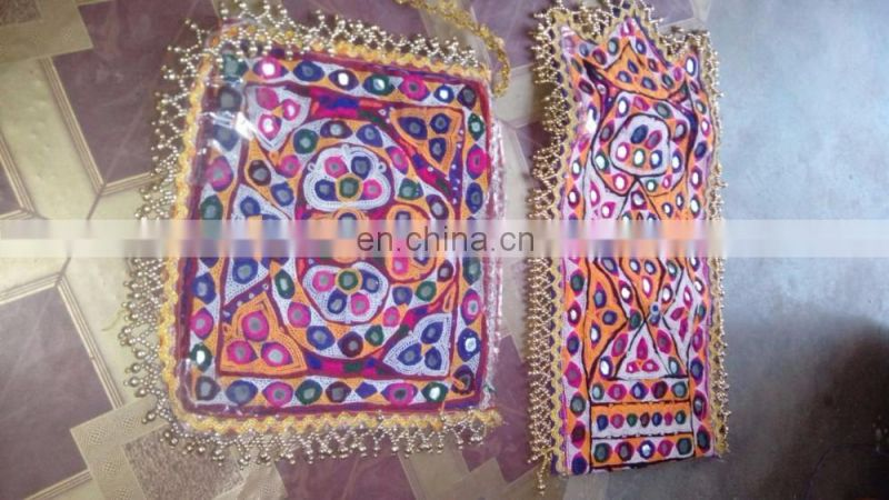 Beautiful handmade Yock Neck patches- Vintage Banjara Fabric yoke Neck Patches