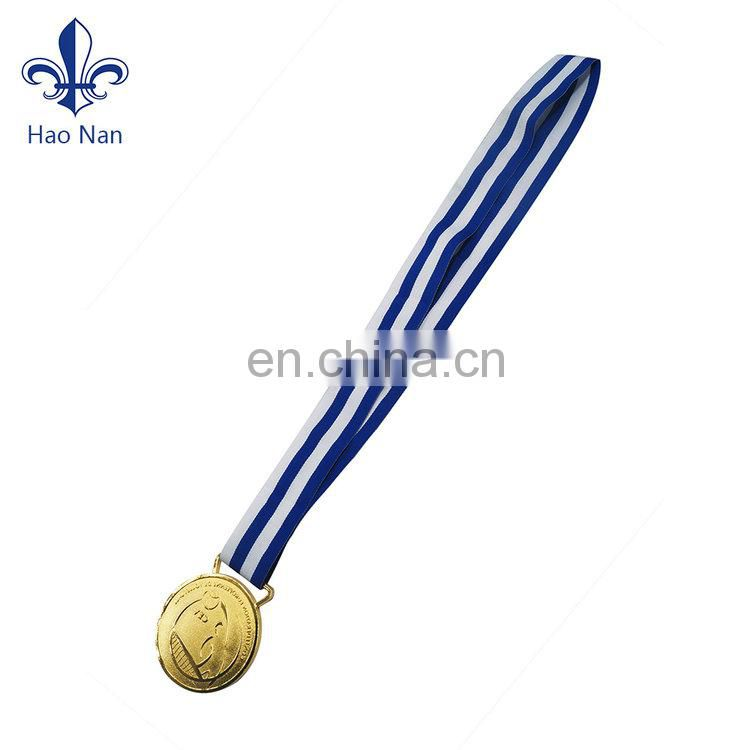 New Product Excellent Quality New Design Custom Metal Medal For Souvenir Cheap Sports Medal With Ribbon Medal Ribbon