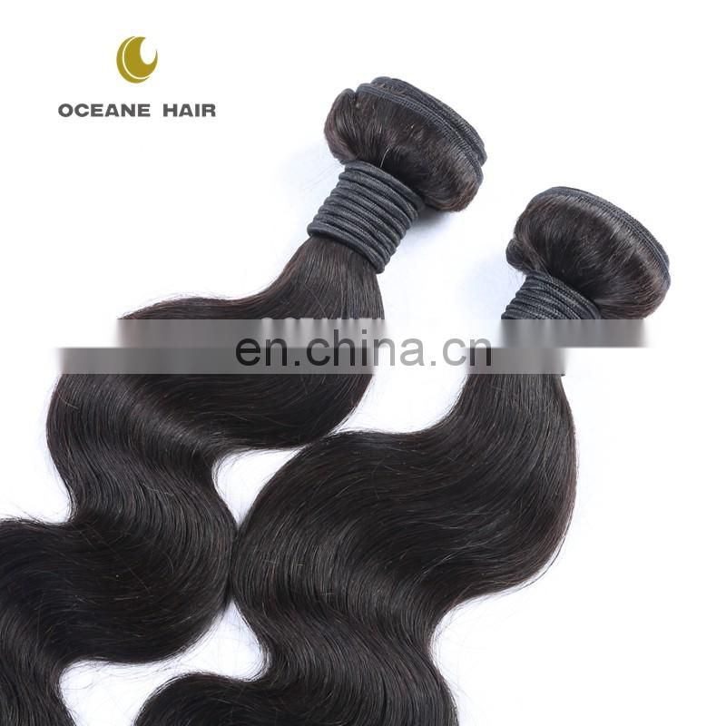 Factory directly sale no shedding China wholesale genuine unprocessed virgin brazilian hair 3 bundles