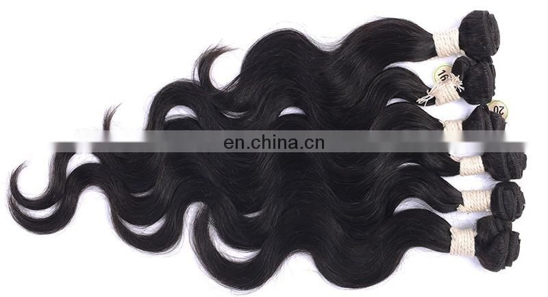 2017 hot sell 6 pcs human hair weave bundles cheap hair bundles 100% human hair bundles