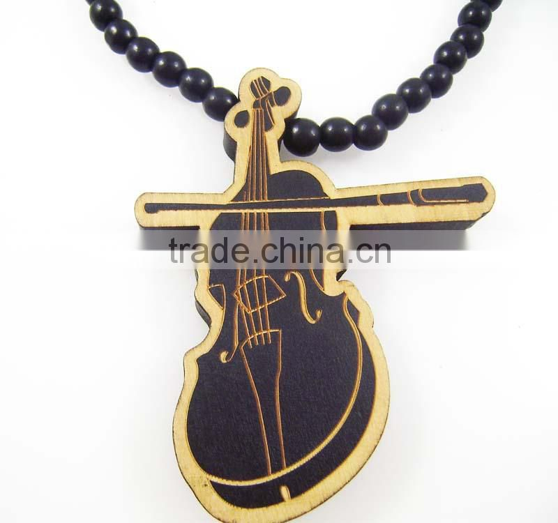 2015 custom wooden jewelry necklace