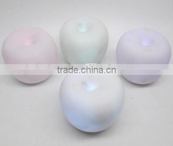 apple shape pvc led vinyl light,pvc led vinyl toys for decor,custom led vinyl toys