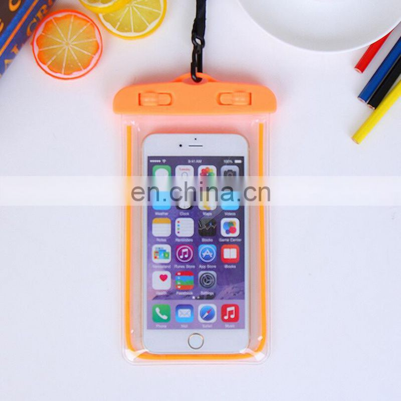 Good Quality Beach Products Swimming Waterproof Bag Phone Packing
