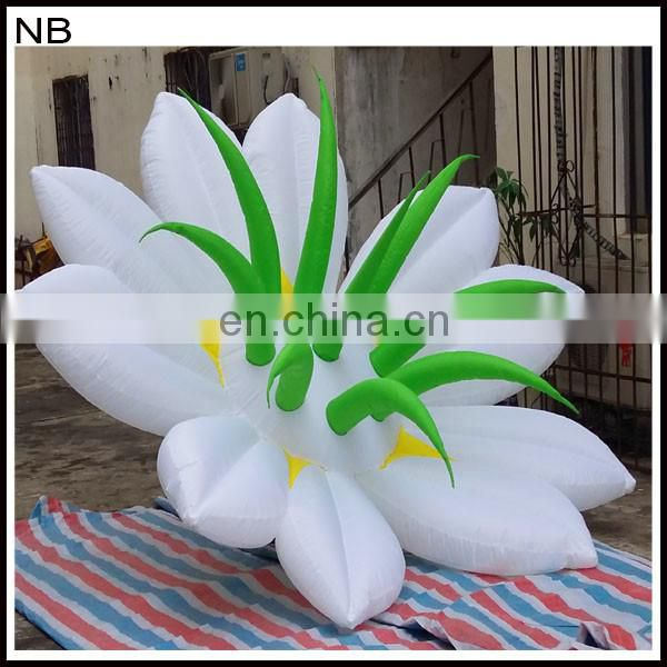 2017 Hot sale inflatable flower for events decoration