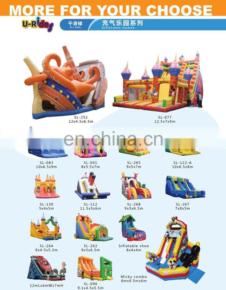 cute Cartoon inflatable slide