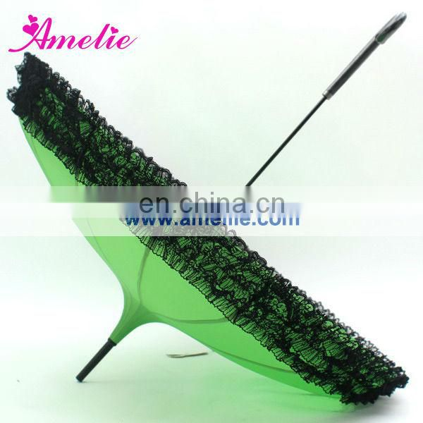 Shiny Green Bella Pagoda Umbrella