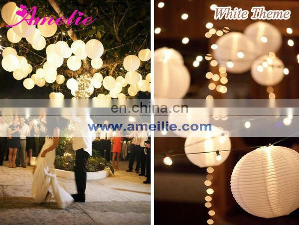 A54PL LED chinese lantern string lights