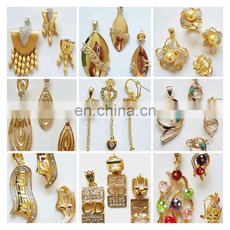 african jewelry sets 18k gold plated for girl