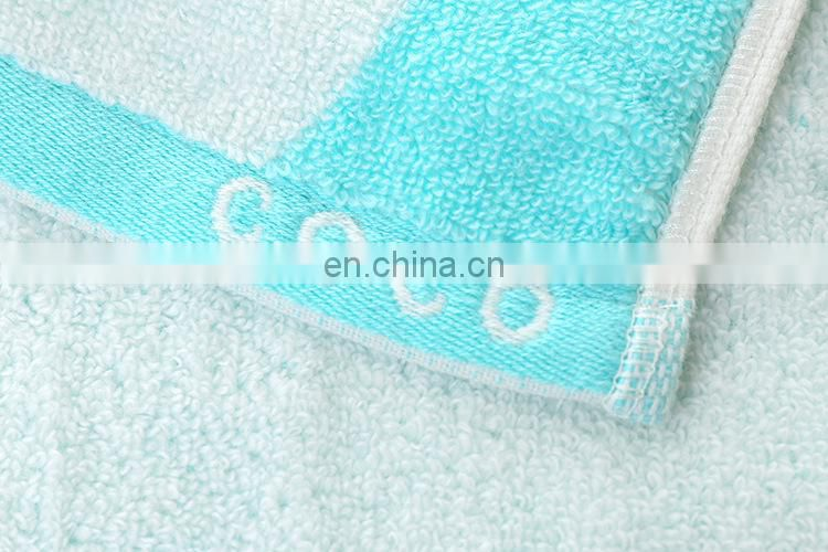 Wholesale super soft cartoon custom 100% cotton baby towel