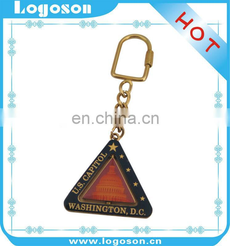 Promotional metal advertising keyrings