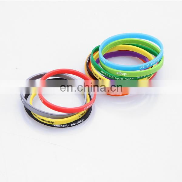 fashion design low price anti-static tpu rubber bands