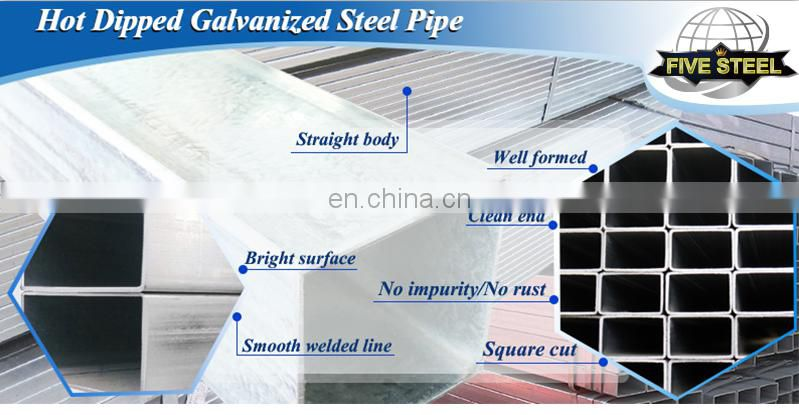 erw carbon welding gal steel pipe tubes