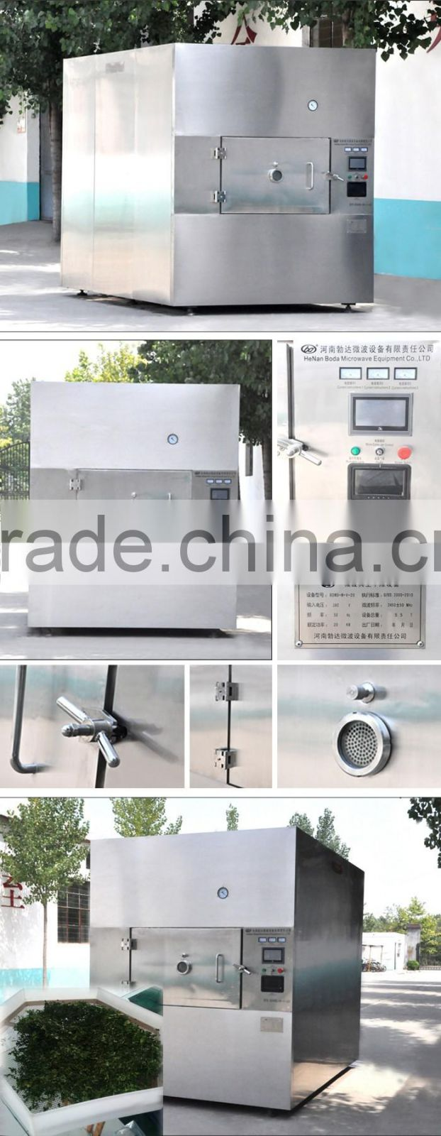 industrial food drying machine dehydrating machine microwave vacuum drying machine wide application high efficiency