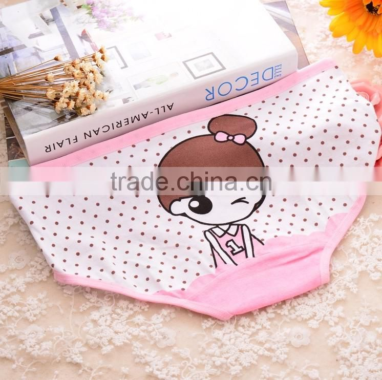 Women New cotton underwear candy pure color wholesale bowknot pure cotton briefs panty