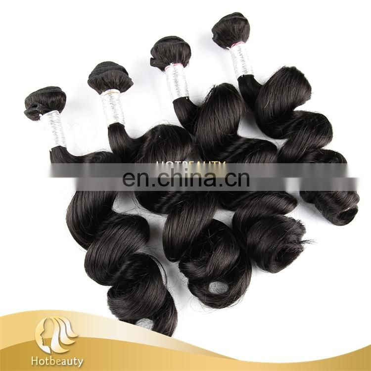 Fashionable Soft Texture Human Hair Virgin Hair Peruvian Hair Weave