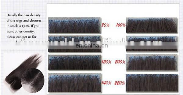 Fashion 100% Human Hair Wigs Piano Color Full Lace Human Hair Wigs