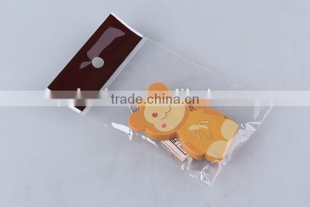 Animal shaped folding comb with mirror with hanging chain/hair brush