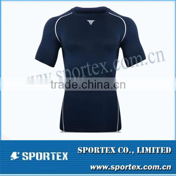 compression gear / sleeveless compression top / customed men's compression shirt