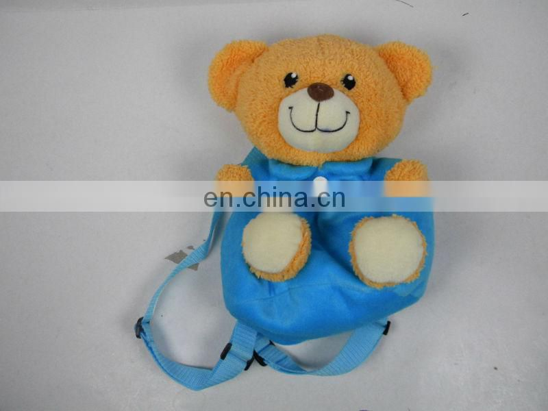 yangzhou school kids bear plush backpack plush teddy bear backpack