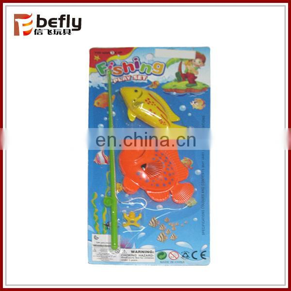 Children plastic toy fishing set for sale