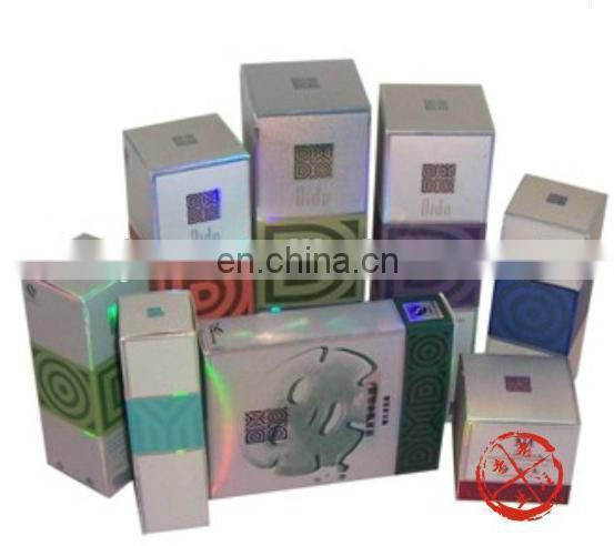 Luxury glossy effect paperboard packing & paper branded cosmetic box
