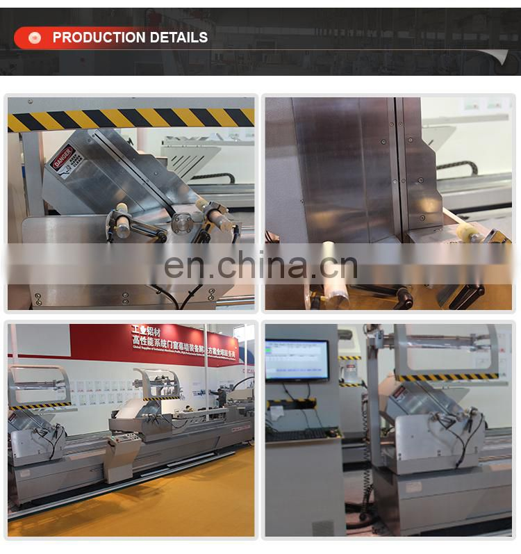 Aluminum Double Head Cutting Saw Machine